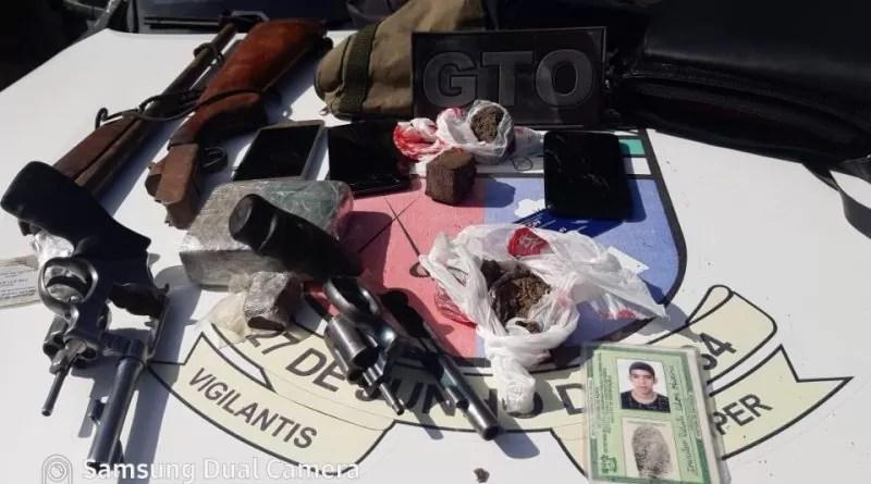 Dois suspeitos armados morrem em troca de tiros com policiais militares no Oeste do RN