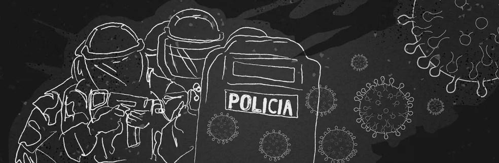 Polícia Militar da Paraíba foi uma das mais afetadas do Brasil com a pandemia de Covid-19