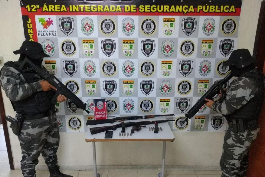 Polícia desarticula grupo suspeito de assaltos em residências