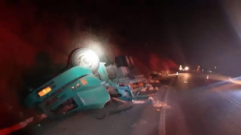 Acidente na Serra de Santa Luzia, deixa uma vítima fatal