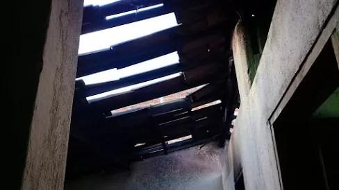 Cigarro causa incêndio em residência no Janduhy Carneiro