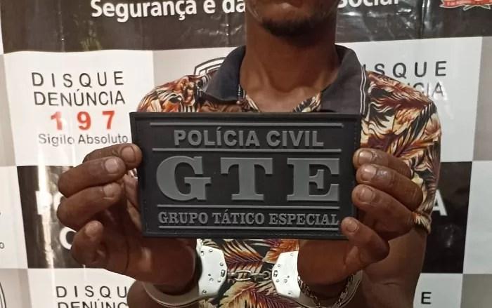 Veja Vídeo: Polícia Militar e GTE agem rápido e prendem acusado de homicídio nesta sexta, em Catolé do Rocha