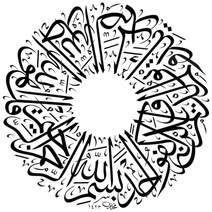 Gambar kaligrafi Arab (play.google.com)