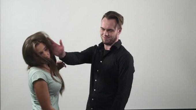Emosi sudah keburu meledak-ledak hingga ia berani melayangkan tamparan ke wajahmu. Gambar via: www.shutterstock.com