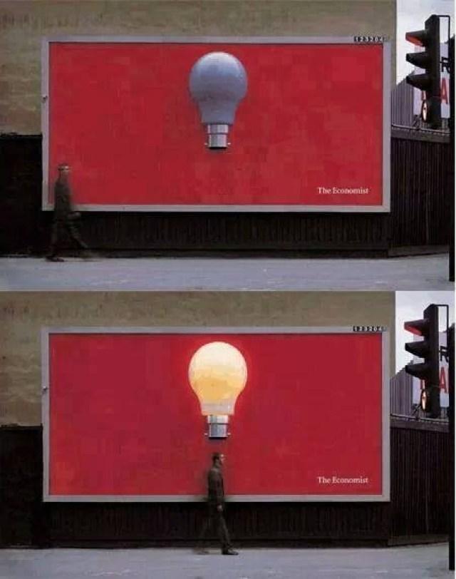 Billboard Lampu Menyala