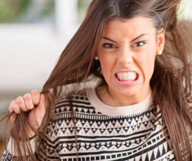 Cewek marah karena PMS