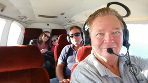 SAMI flew the Zimmer family to Sumner Regional Airport