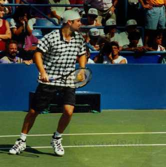 1995 US Open Andre Agassi