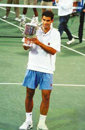 1995 US Open Pete Sampras def. Andre Agassi