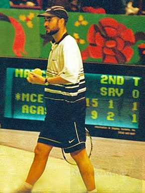 1996 Nike Cup MSG Andre Agassi