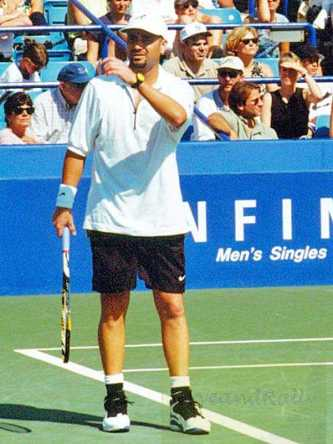 1996 US Open Andre Agassi