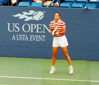 1997 US Open Lindsay Davenport