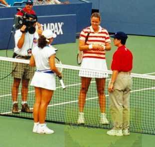 1997 US Open Lindsay Davenport vs. Magui Serna