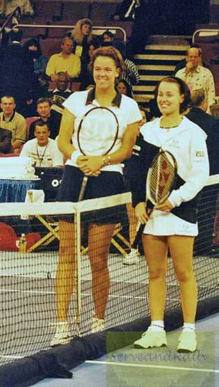 1998 Chase Championships MSG L. Davenport vs. M. Hingis