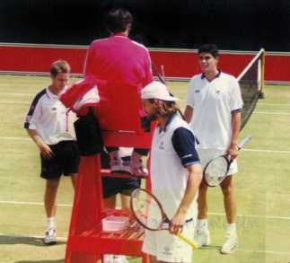 1999 Stella Artois Championships MP & GI vs the Woodies at the Queens Club