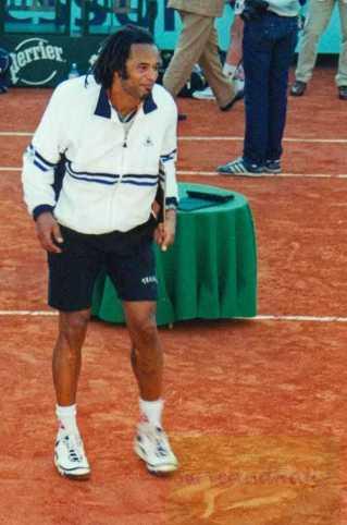 2000 Roland Garros Yannick Noah