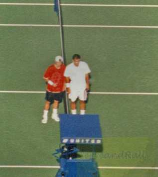 2001 US Open Pete Sampras vs Lleyton Hewitt