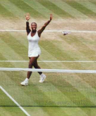 2002 Wimbledon Women's Final Serena