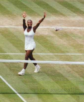 2002 Wimbledon Women's Final Serena