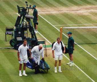 2002 Wimbledon Men's Final Lleyton Hewitt vs. David NalbandianA