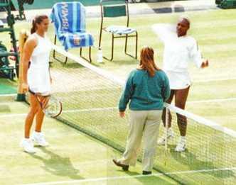 2002 Wimbledon Serena vs. Amelie Mauresmo