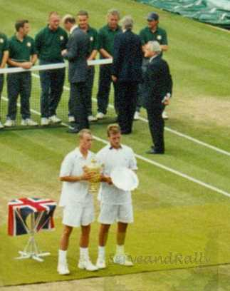 2002 Wimbledon Lleyton Hewitt & David Nalbandian