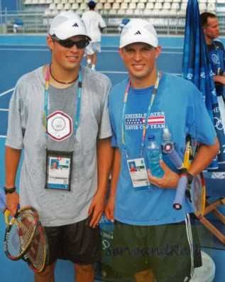 2004 Olympics Bryan Brothers (Bob and MiKe)