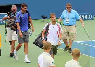 2012 US Open M. Cilic & M. Klizan