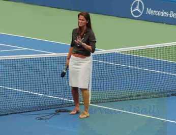 2012 US Open Mary Joe Fernandez