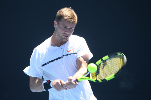 Harrison fights off rain and Millman