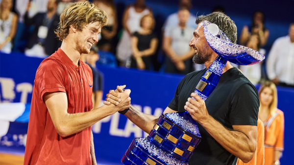 Andrey Rublev cracks the top fifty