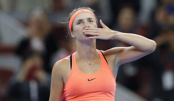 Halep feeling the pressure, loses to Svitolina