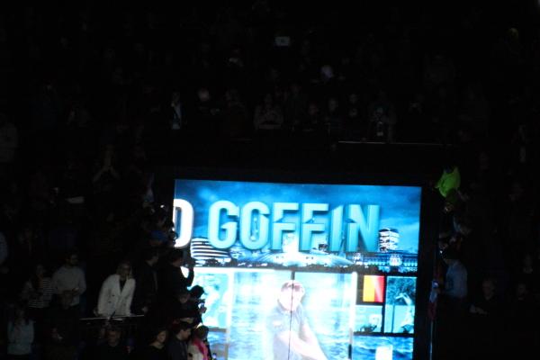 Goffin Stuns Federer