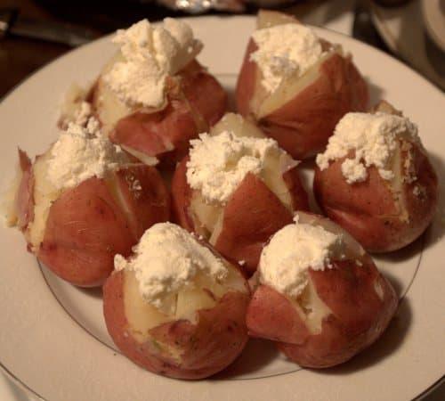 Lemon Ricotta Potatoes - Served From Scratch