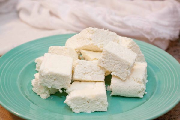 From Scratch Paneer is so much easier than you think to make at home!  It's only 2 ingredients!