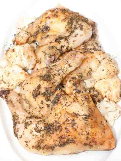 Easy Herbed Chicken, the perfect week night meal!