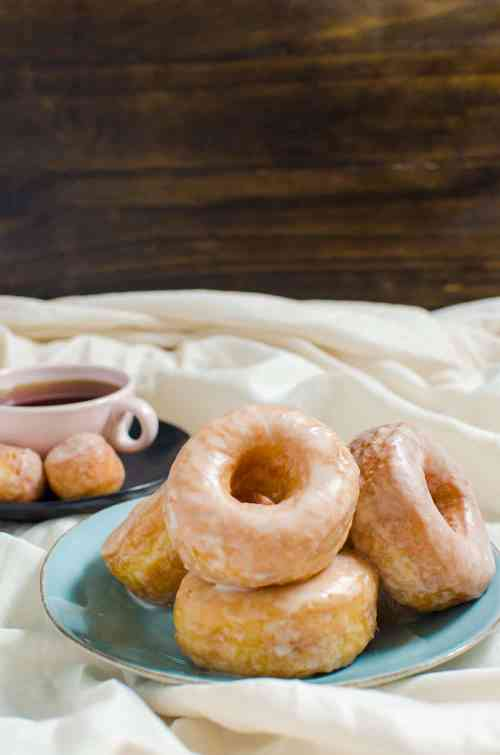 Dini over at The Flavor Bender teaches us how to make these Classic Glazed Doughnuts From Scratch!