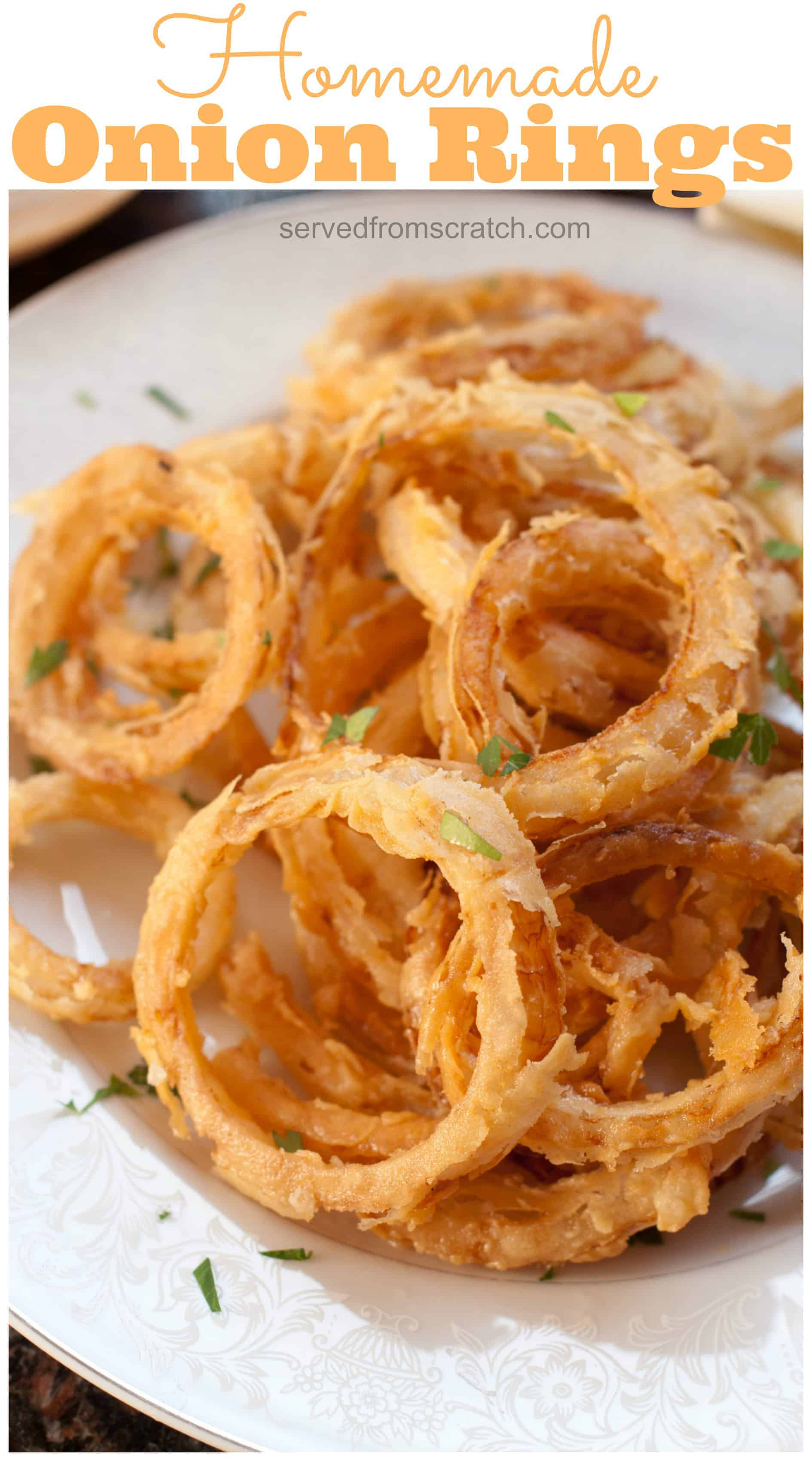 How To Make Onion Rings From Scratch