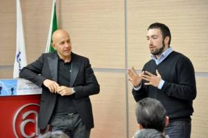 Davide Galanti di Serverlab e Luca Sartoni di 123 People