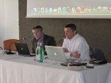 Alessandro Varago insieme a Francesco Tripodi di NetApp