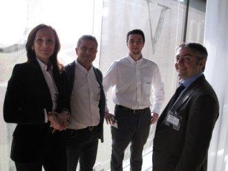Lo staff Serverlab con Francesco Tripodi di NetApp
