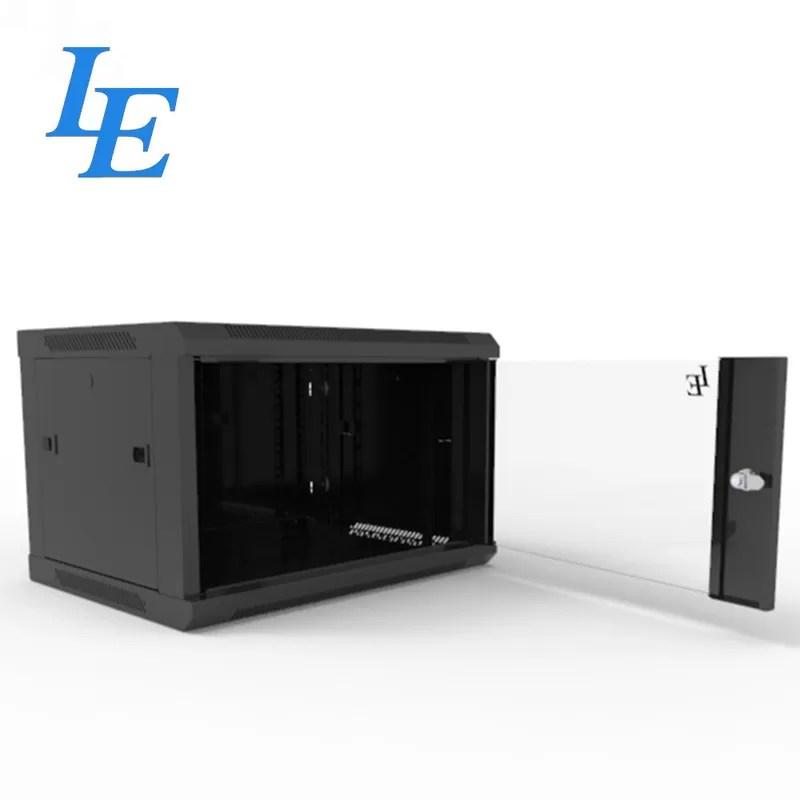 19 assembled home 6u server rack cabinet