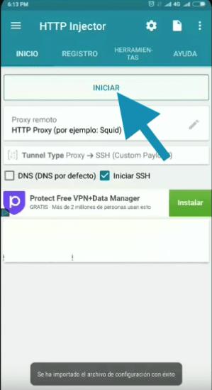 bajar servidores cnt ecuador http injector vpn apk