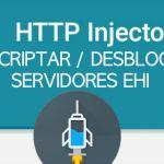 como desencriptar servidores ehi http injector desbloquear archivos ehis servers