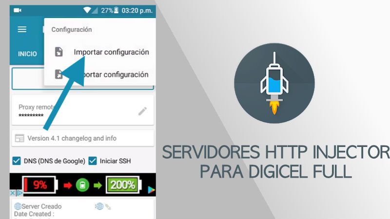 Servers Entel Http Injector 2019 Peru Chile Y Bolivia