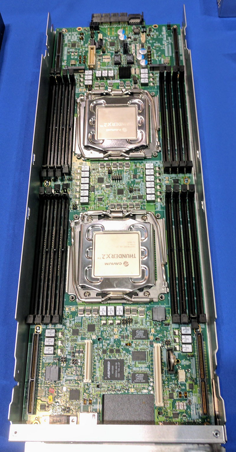 Cavium ThunderX2 Dual Socket System Spotted Live