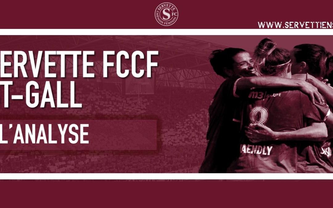 Servette FCCF – FC St. Gallen-Staad : l'analyse de la rencontre
