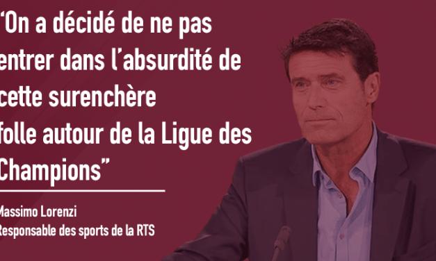 L'interview de Massimo Lorenzi, rédacteur en chef de RTS Sport