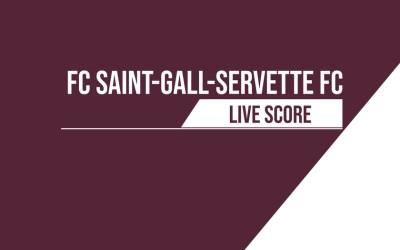 Saint-Gall – Servette FC   Le livescore