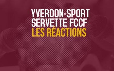 Yverdon Féminin – Servette FCCF 1-4 | Les réactions